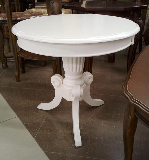 Чайний столик Moon, білий