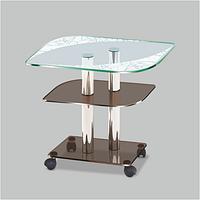 Стеклянный столик Bravo F с рисунком
