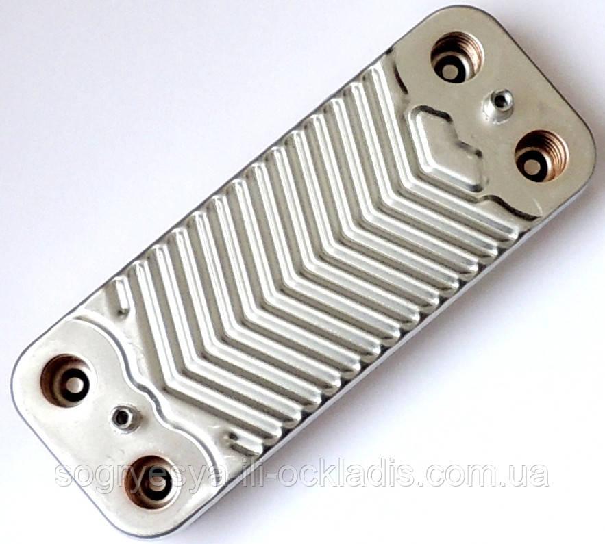 Теплообменник вторичный 18 / 24 кВт AA10110001 Zoom Boilers, Rens, Weller, артикул AA10110001, код сайта 4048
