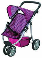 Прогулочная коляска для куклы Catrin фиолетовая