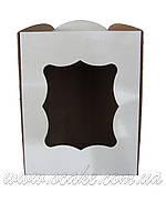 Коробка для пасхи с окном 170*170*210