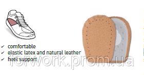 Подпяточник мужской выполнен из мягкой латексной пенки и нежной кожи пекари DALAN, фото 2