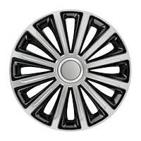 Колпаки Elegant Trend Silver Black R13, R14, R15, R16
