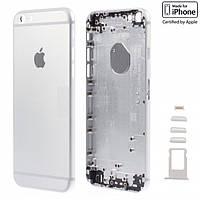 Корпус для Apple iPhone 6 Plus, оригинальный (Silver)