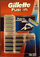 Картриджи Gillette Fusion, 16 Count Cartridge, фото 1
