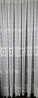 Тюль вышивка на микровуали Медальон - 6 + 7,45 метра