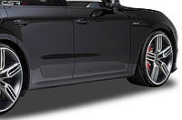 Накладки на пороги Porsche Macan