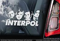 Interpol стикер