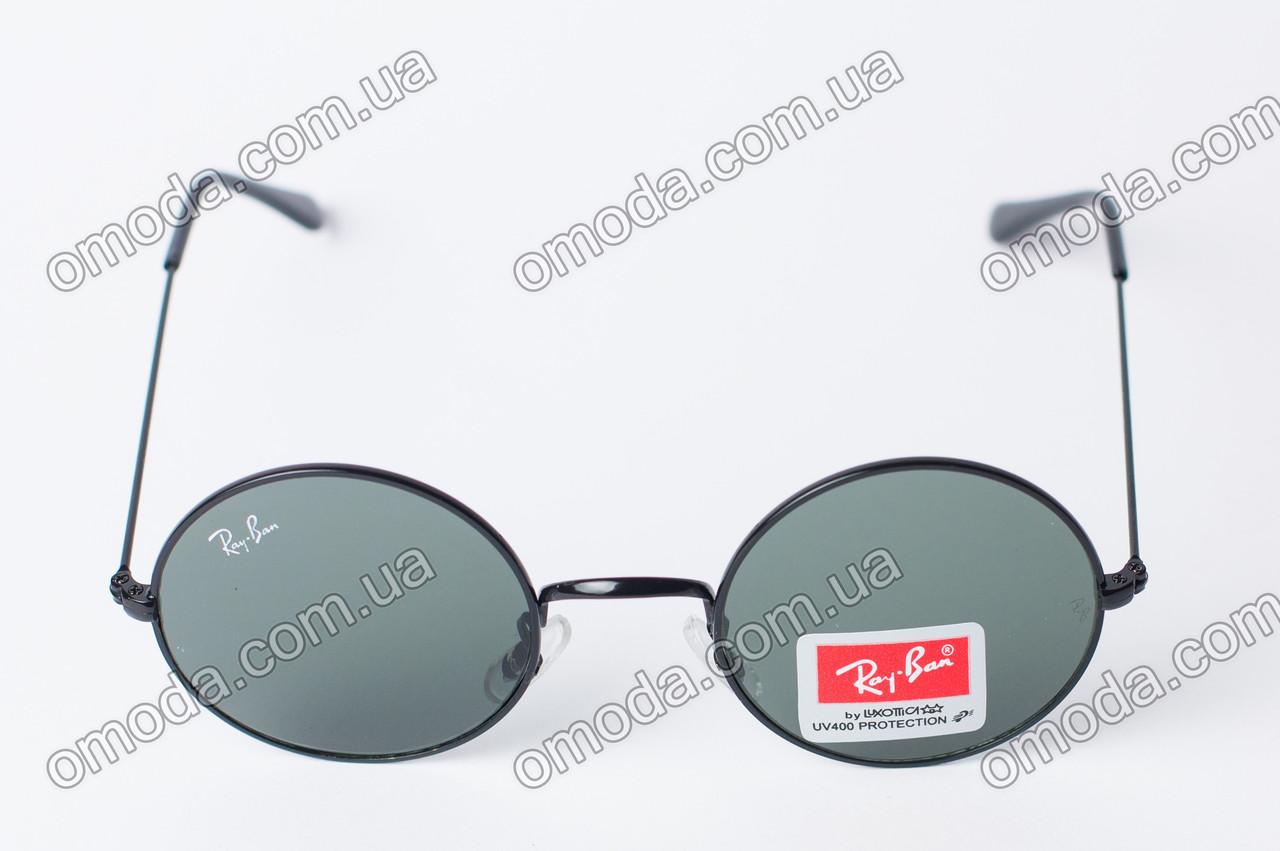 Солнцезащитные очки RB черного цвета