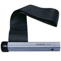 Ключ для снятия масляного фильтра ленточный нейлоновый Force 619F