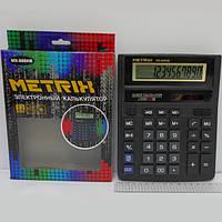 "Калькулятор ""Metrix"" MX-888HB бол бухг 12разр. 2 пит"