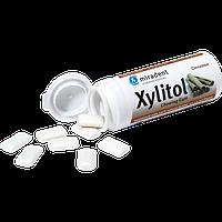 Жевательная резинка Miradent Xylitol Chewing Gum (30шт), корица, фото 1