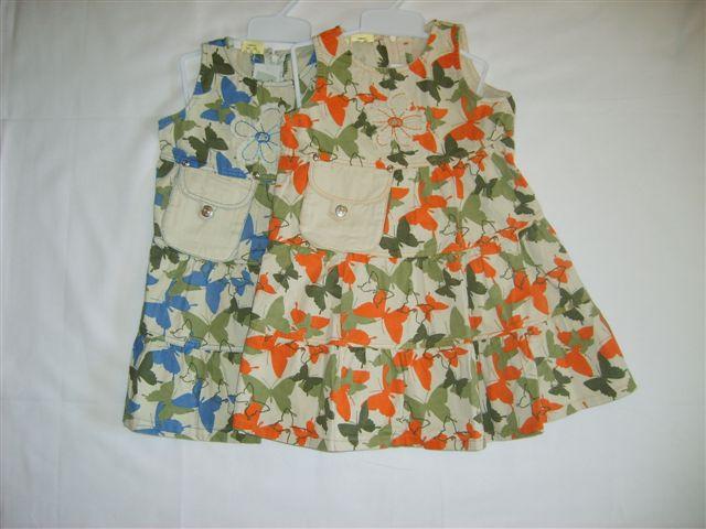 Платье детское   Akuku синее р110