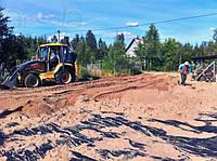Поднятие участков - отсыпка дорог
