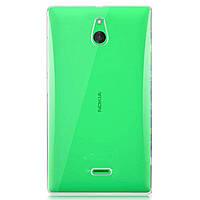 Чехол силиконовый Ультратонкий Epik для Nokia Microsoft Lumia X2 Прозрачный