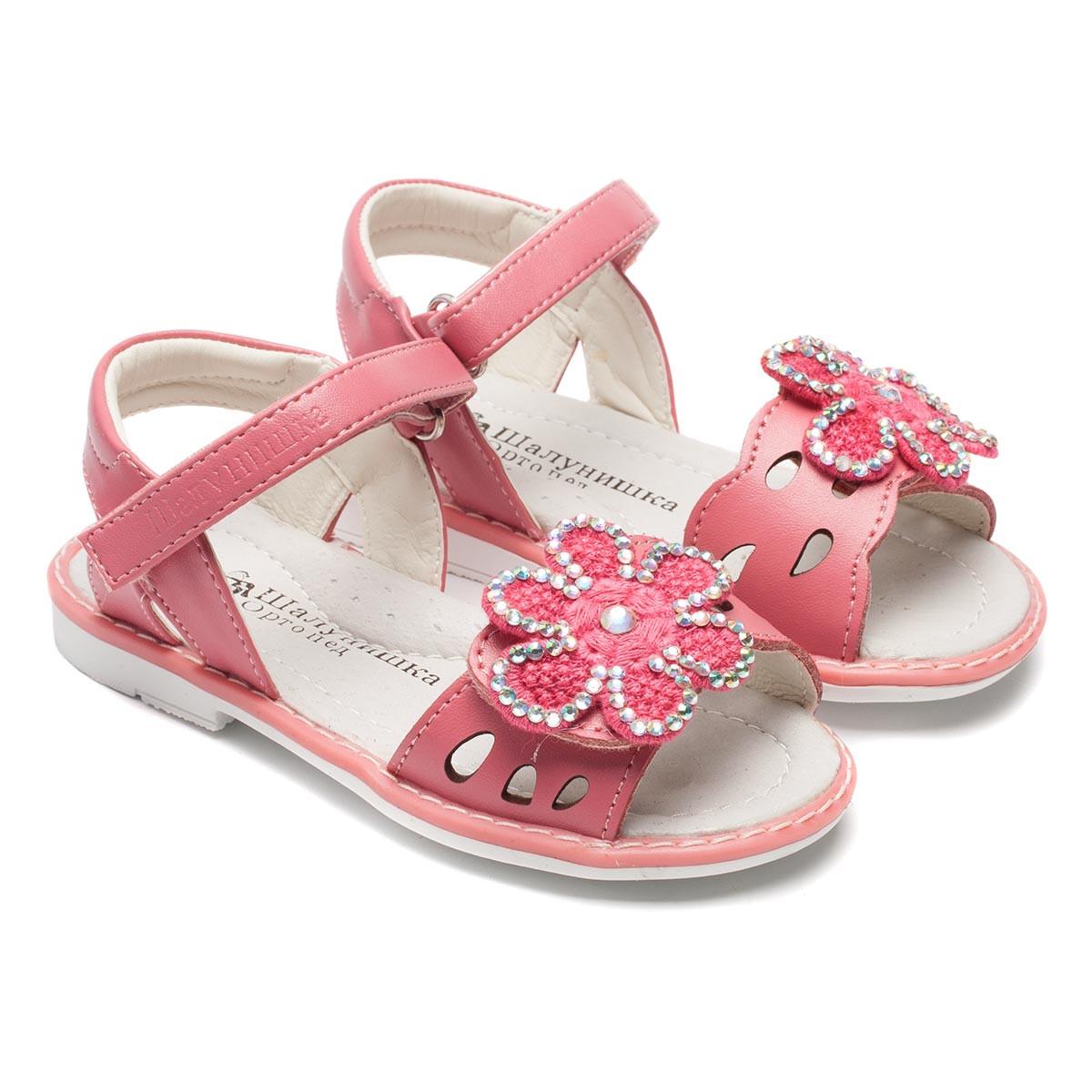 Сандалии для девочки, открытые, размер 24-30 Подробнее: http://ortopedic.com.ua/p90444265-sandalii-dlya-devochki.html