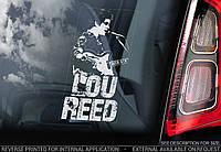 Lou Reed стикер