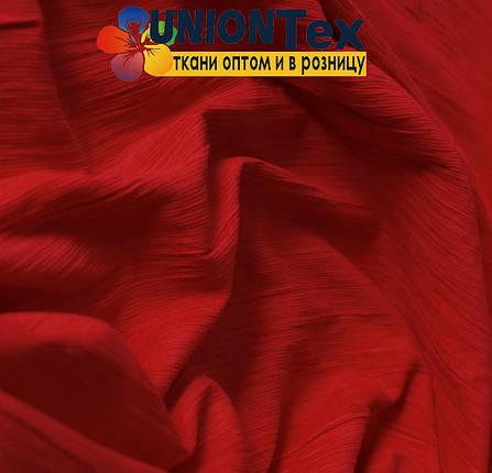 Вельвет костюмный красный х/б, фото 2