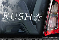 Rush стикер