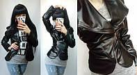 Женская куртка косуха кожа