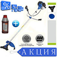 Бензокоса (мотокоса) Байкал ББТ-4500 проф + масло