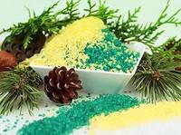 Морская соль для ванн с эфирным маслом Гималайского кедра