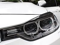 Реснички (накладки на фары) BMW F30