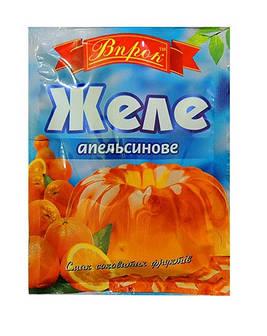 Желе апельсиновое