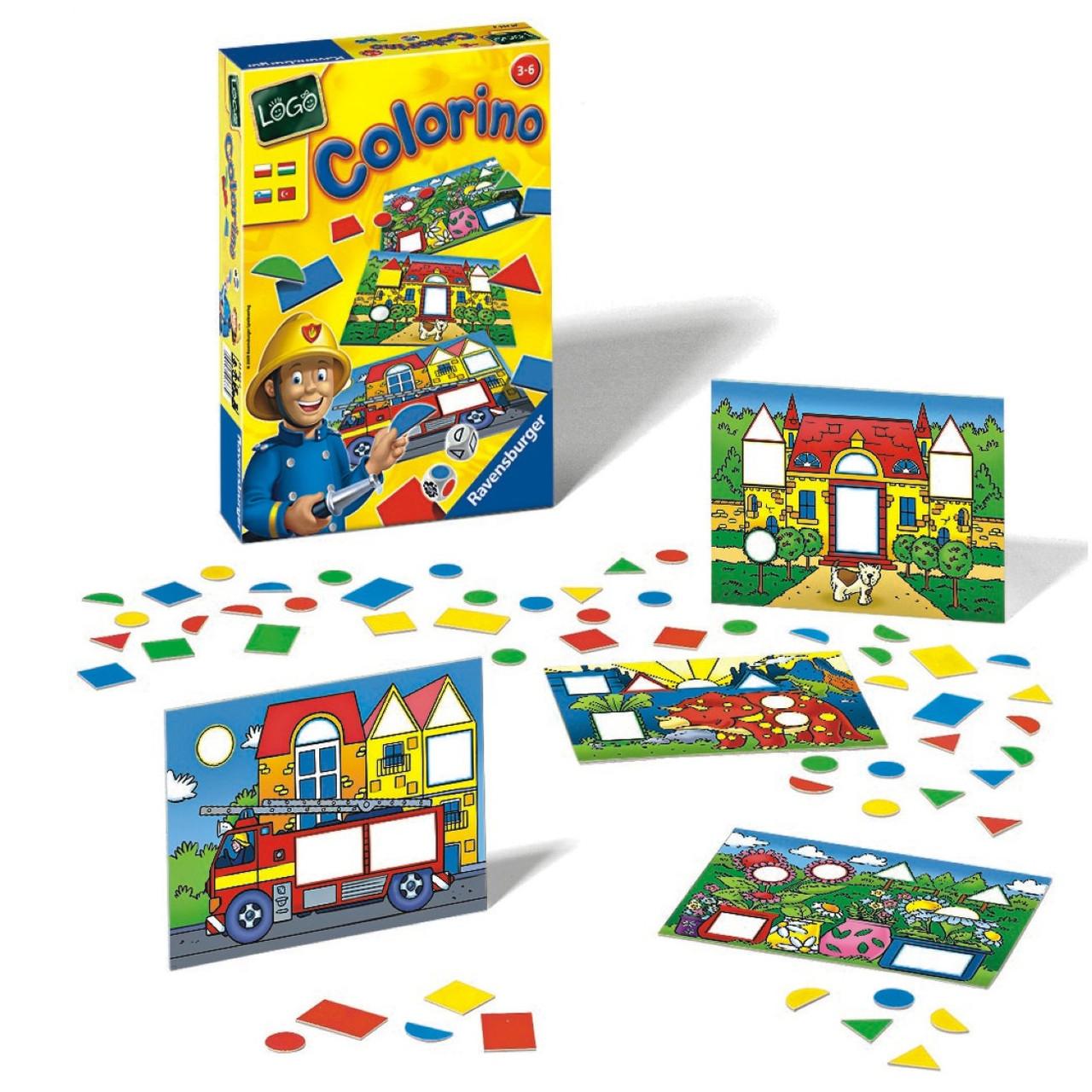 Настольная детская игра Ravensburger «Лого Колорино» (24369)