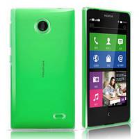 Чехол силиконовый Ультратонкий Epik для Nokia Microsoft Lumia X Прозрачный