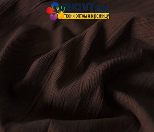 Вельвет костюмный темно-коричневый х/б, фото 2