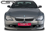Юбка (спойлер) переднего бампера BMW 6 E63 / E64