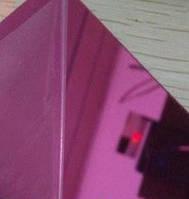 Акрил зеркальный 1.5mm фиолетовый 60*60 см