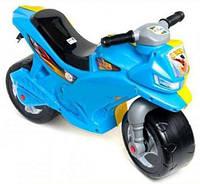 Детский мотоцикл - беговел, Орион сине-желтый (501)