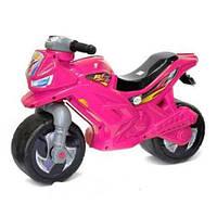 Детский мотоцикл - беговел, Орион розовый (501)