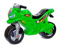 Детский мотоцикл - беговел, Орион зеленый (501)