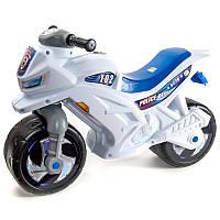 Детский мотоцикл - беговел, Орион полицейский c каской и значком  (501)