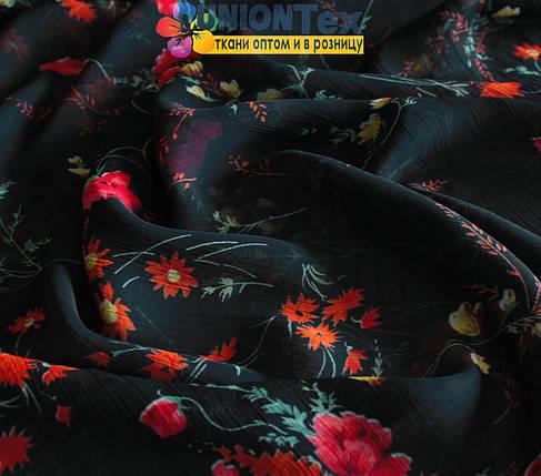 Марлевка черная цветы, фото 2
