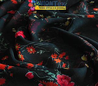 Марлевка черная цветы