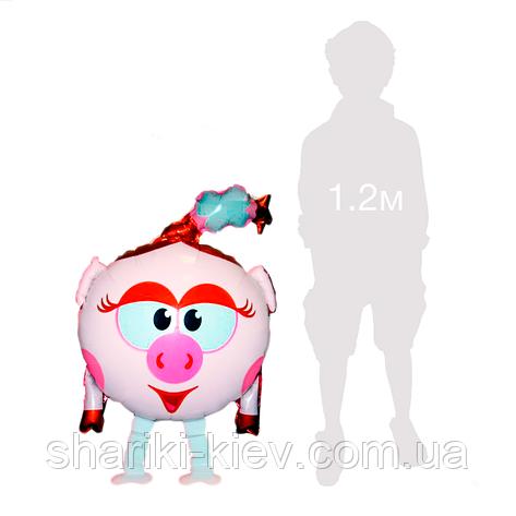 Ходячая фигура Нюша Смешарики на День рождения, фото 2
