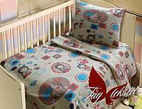 Детский комплект в кроватку для нноворожденных Скво, магазин постельного белья