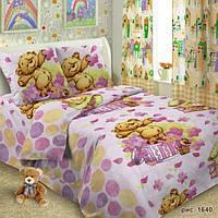 Ткань для детского постельного белья, поплин Мишки