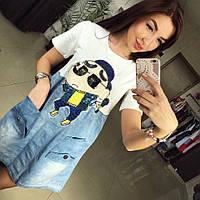 Платье джинс-коттон Gangnam Style