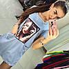 Платье-туника джинс, фото 2