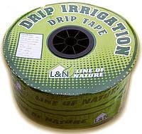 Капельная лента DRIP TAPE SANTEHPLAST (L&N) 1000м интервал 15см (1,4 литра/час, 8mil)