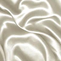 Атлас-стрейч - цвет белый