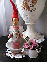 Декоративная игрушка ручной работы (Ангел)