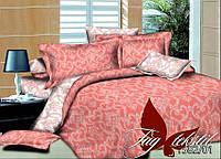 Комплект постельного белья двуспальный поплин PL1582-01