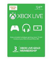 Xbox Live Gold - 3 месяца (все страны)