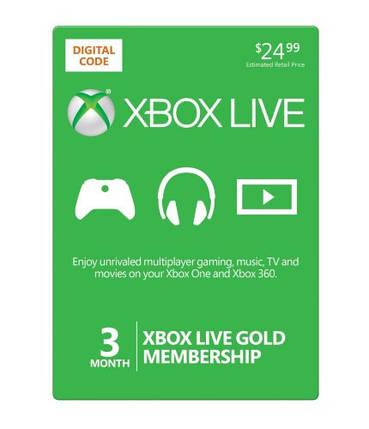 Xbox Live Gold - 3 месяца (все страны), фото 2